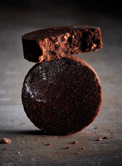 recette de Sablé breton au chocolat et noisettes