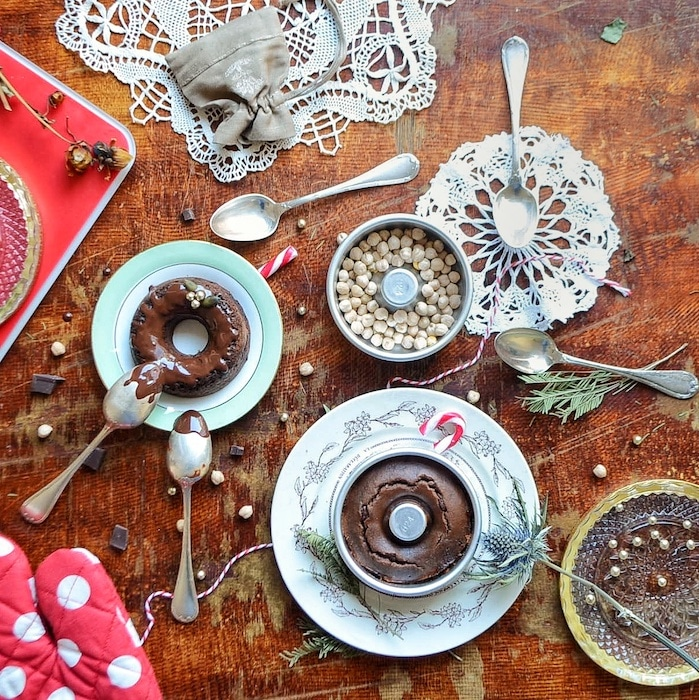 recette de Couronnes chocolatées