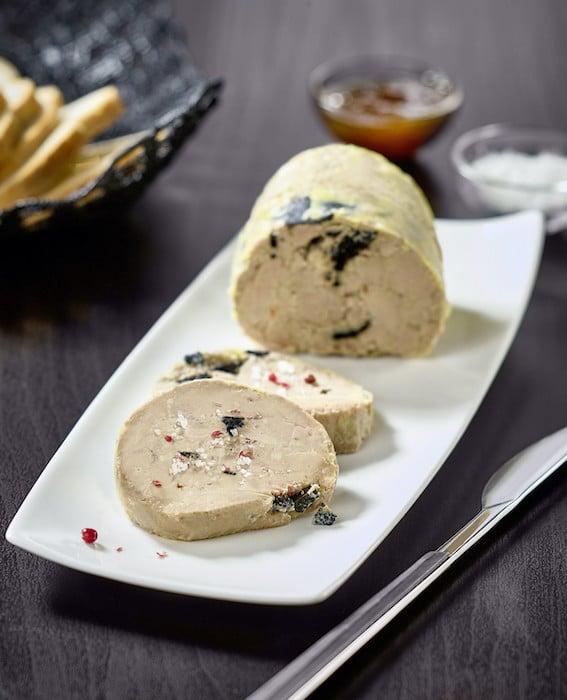 recette de Foie gras d'oie à la truffe