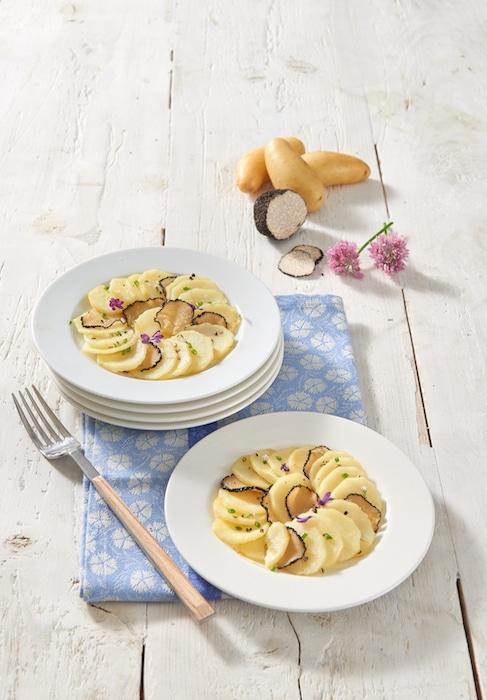 recette de Maxime de Ratte du Touquet à la truffe
