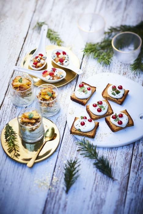recette de Bouchées apéritives au Saint Agur