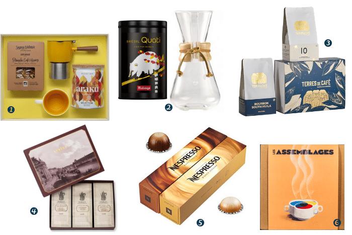 cadeaux pour buveurs de café