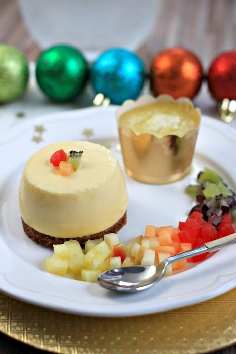 recette de Cheesecake spéculos ananas