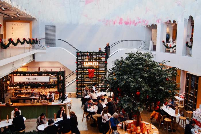 Le Noël à l'italienne d'Eataly Paris