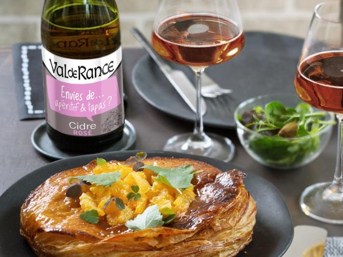 recette de Galette des Rois fenouil et mandarine