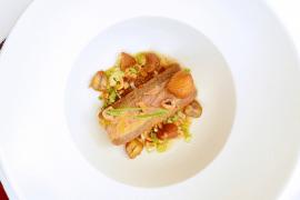 Foie gras et biscuit châtaigne