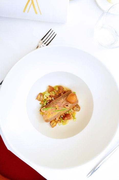 recette de Foie gras et biscuit châtaigne