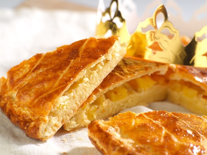 recette de Galette des Rois coco ananas