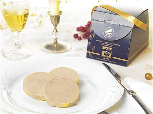 sélection de foies gras de canard