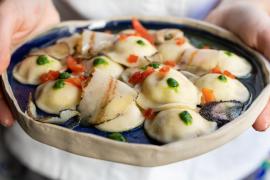 Ravioli di pasta e patate