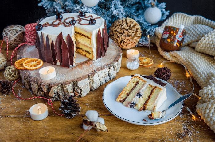 recette de dessert de Noël