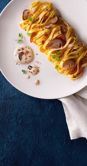 recette de Lasagnette aux cèpes