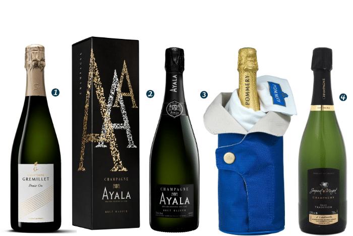 sélection 2019 de champagnes