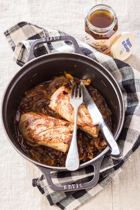 recette de Filet mignon de porc au miel