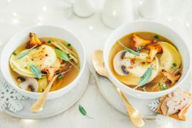 Ravioles de foie gras à la thaï