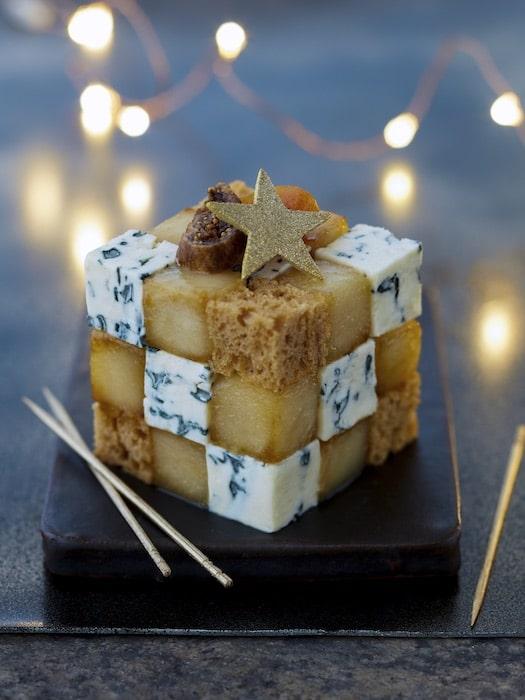recette de Rubix Cube au Saint Agur