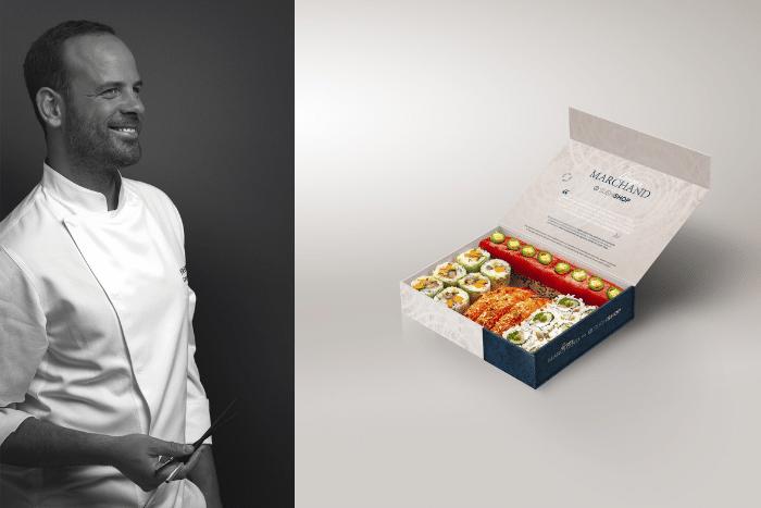 Le chef étoilé Grégory Marchand signe la nouvelle carte Sushi Shop