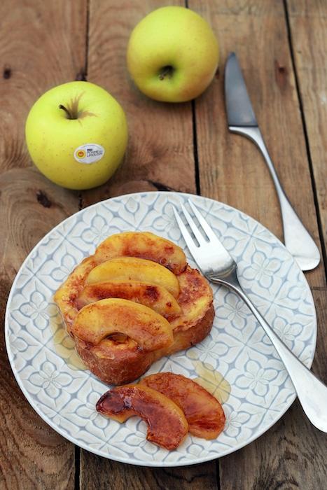 recette de Brioche perdue aux pommes du Limousin