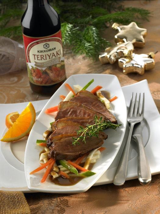 recette de Canard Teriyaki