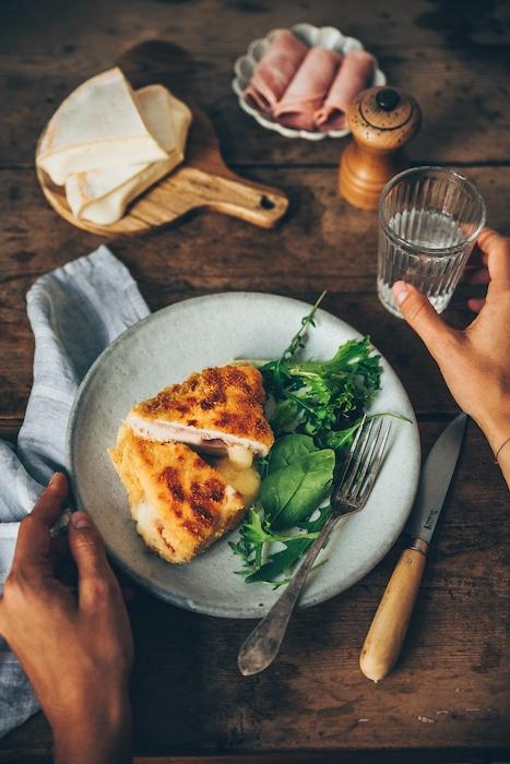 recette de Cordons bleus au Reblochon