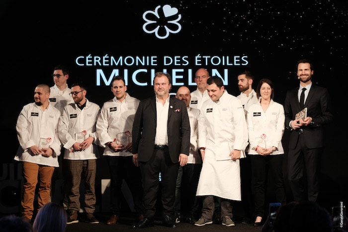Les pâtissiers du Guide Michelin
