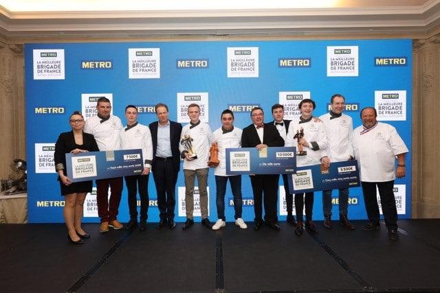 lauréats meilleure brigade de France 2020