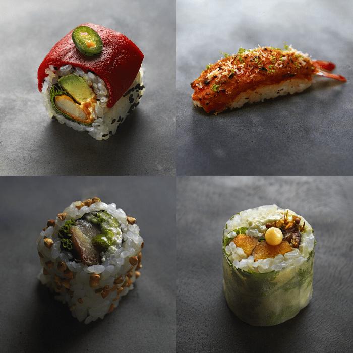 créations Grégory Marchand pour Sushi Shop