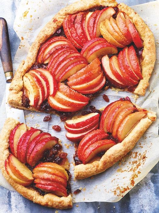 recette de Tarte rustique aux pommes