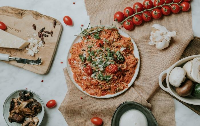 recette de Spaghetti à la sauce tomate