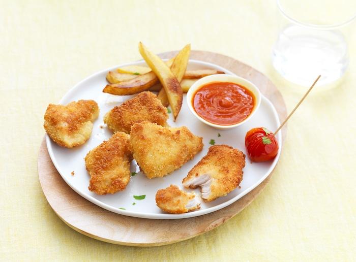 recette de Nuggets de poulet