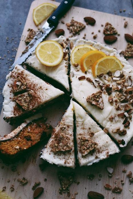 recette de Carrot Cake au granola