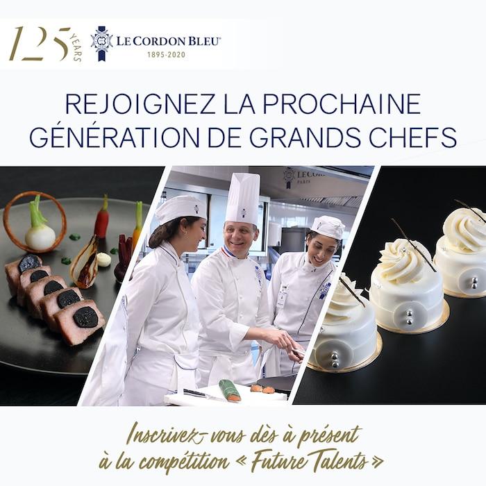 compétitions culinaires Le Cordon Bleu