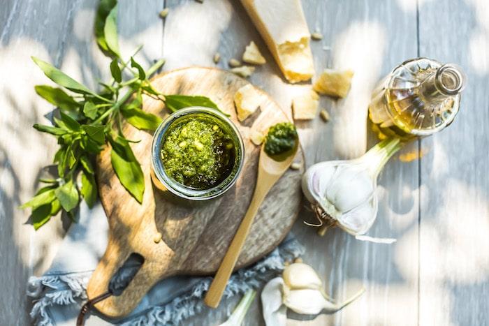 Pesto à l'huile d'olive