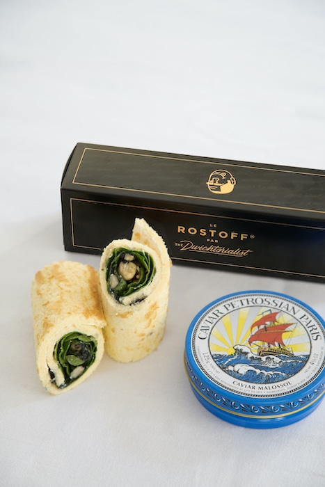 Rostoff au caviar
