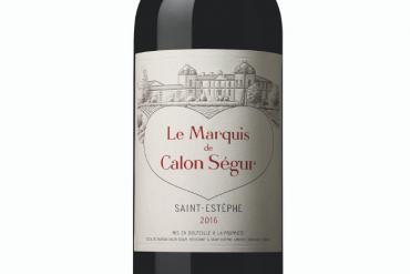 Le Marquis de Calon Ségur 2016