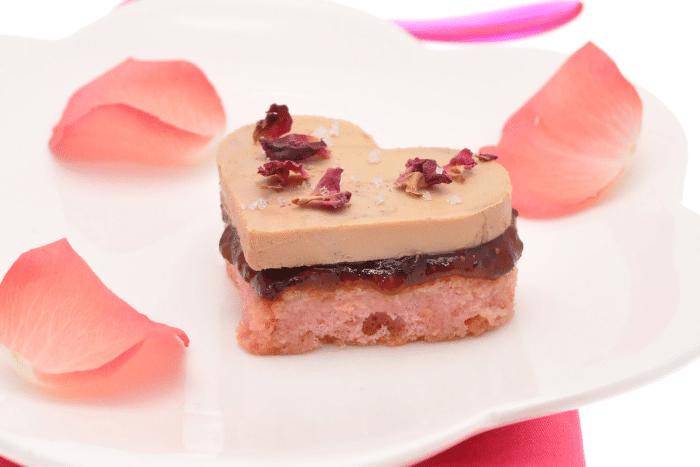 Coeurs de foie gras aux biscuits de Reims - Kiss My Chef