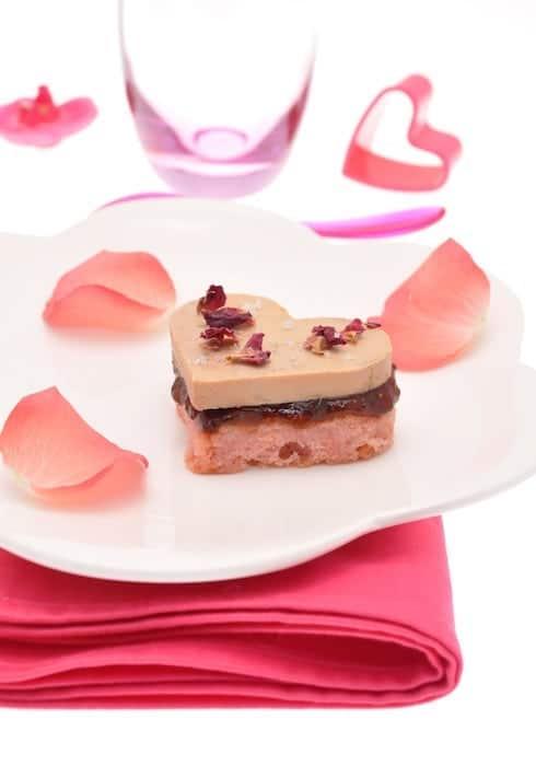 recette de Coeurs de foie gras