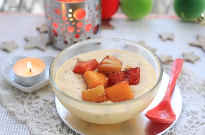 recette de Mousse au chocolat blanc craquante