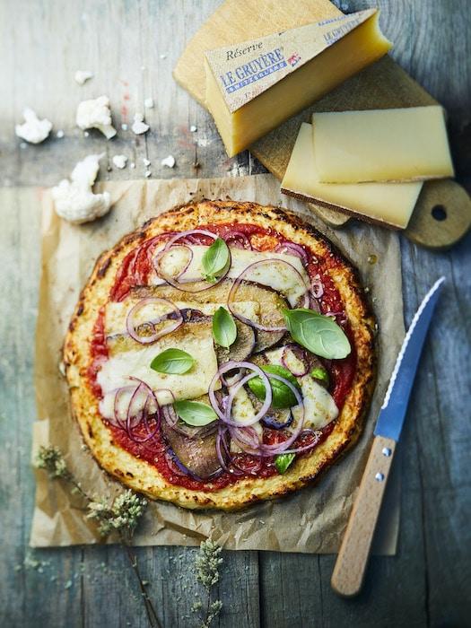 recette de Pizza de chou-fleur
