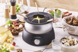 Raclette et fondue