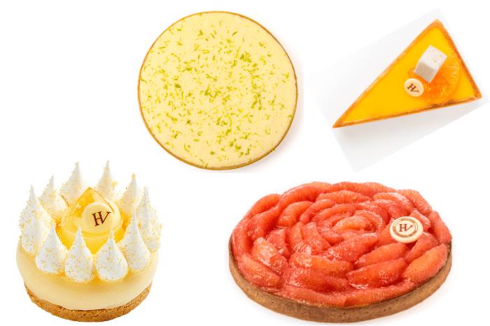 tartes aux agrumes
