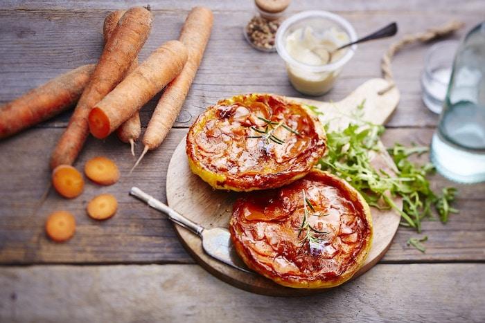 recette de Tatins aux carottes