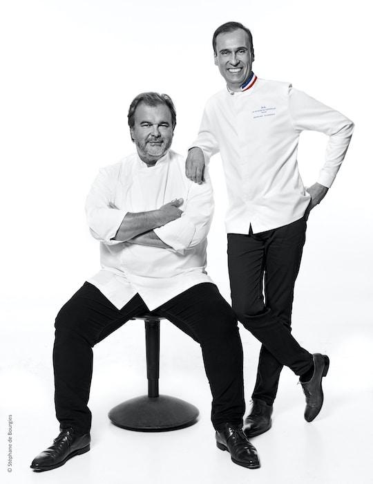 Nicolas Cloiseau et Pierre Hermé