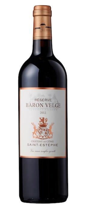 La Réserve Baron Velge 2015 Château de Côme