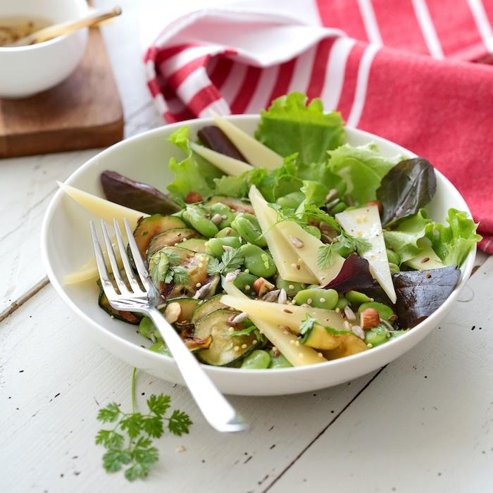 recette de Salade de printemps à l'Ossau-Iraty