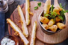 Asperges façon Fish&Chips