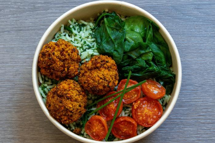 Croquettes de quinoa aux légumes