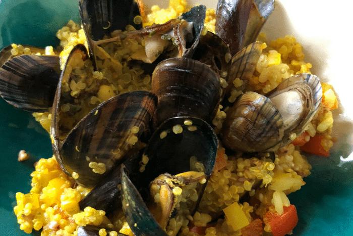 Moules au curry coco