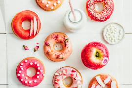Donuts à la pomme
