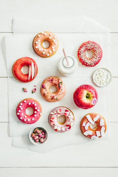 recette de Donuts à la pomme